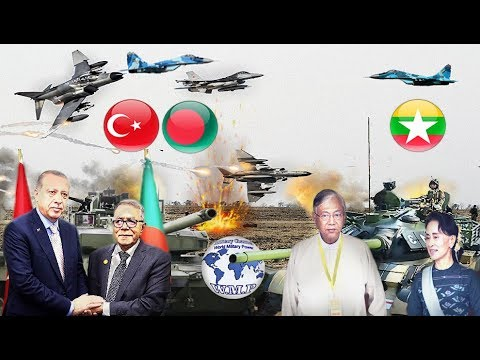 Bangladesh and Turkey VS Myanmar Military Power Comparison 2017