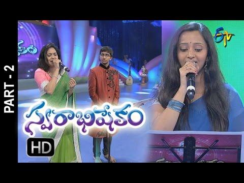 Swarabhishekam   9th October 2016   Part 2   ETV Telugu