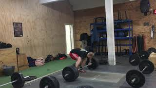 "Hang Snatch Fail: 136kg/300lbs by Mike ""Dr. Hang Snatch"" Bjerregaard"