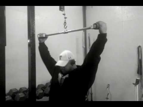 Lat-pulldowns with FAT GRIPZ