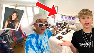 I FILLED GAVINS ROOM WITH PICTURES OF PIPER ROCKELLE!