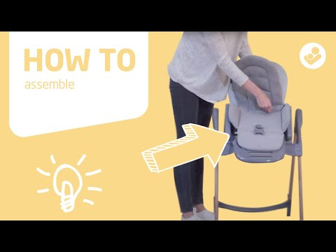 Maxi-Cosi | Minla 6-in-1 high chair | How to assemble