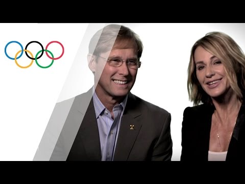 Nadia Comaneci and Bart Conner, 11 Olympic Medals in this Olympic Family