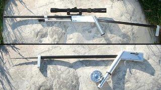 Удочка-винтовка Pack-Rifle: Совмести рыбалку с охотой