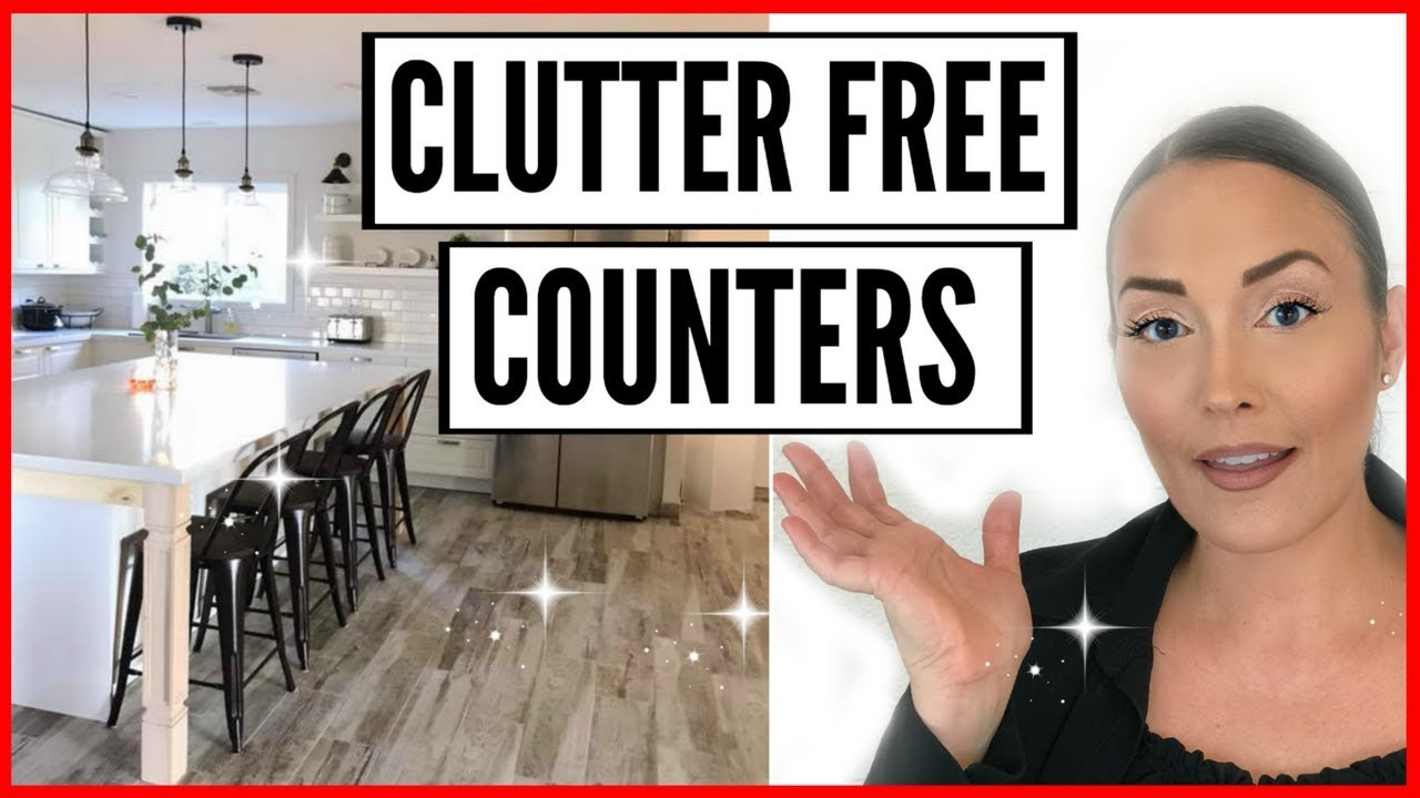 Small Appliance Storage Ideas Hacks How To Organize Kitchen Cabinets Clutter Free Counters Youtube