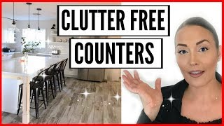 SMALL APPLIANCE STORAGE IDEAS + HACKS ● HOW TO ORGANIZE KITCHEN CABINETS ● CLUTTER FREE COUNTERS