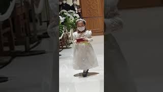4살 결혼식 반지 전달의 정석
