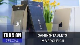 Gaming-Tablets im Vergleich - SPEZIAL - 4K
