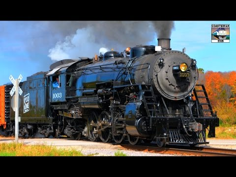 WISCONSIN Steam Train: SOO LINE 1003
