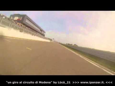 Circuito Modena : Panigale by bursi partenza circuito modena video
