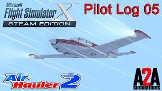 Flight Simulator X: Pilot Log 5 - Snow Storm - Air Hauler 2 - A2A Comanche!