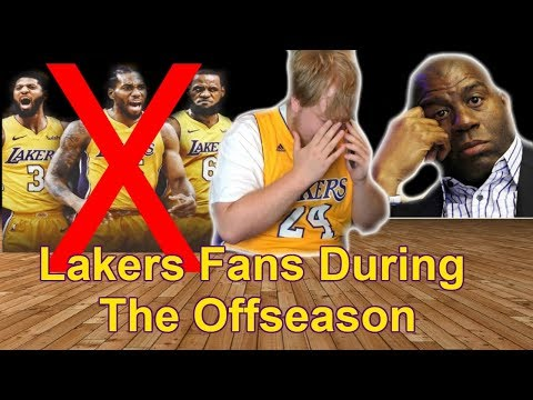 Lakers Fans During The NBA Offseason
