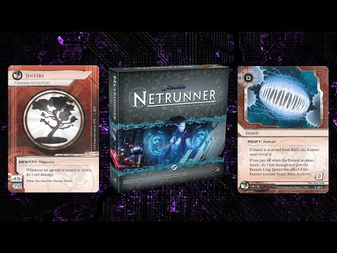 A Look Back At The Netrunner Core Set - Jinteki