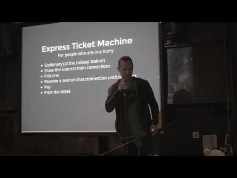 "KSUG Meetup: ""Express yourself with a finite-state machine"" by Michał Tomański"