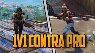Jugando MODO CREATIVO Contra El Mejor Jugador de Argentina en consola?-PS4 FORTNITE