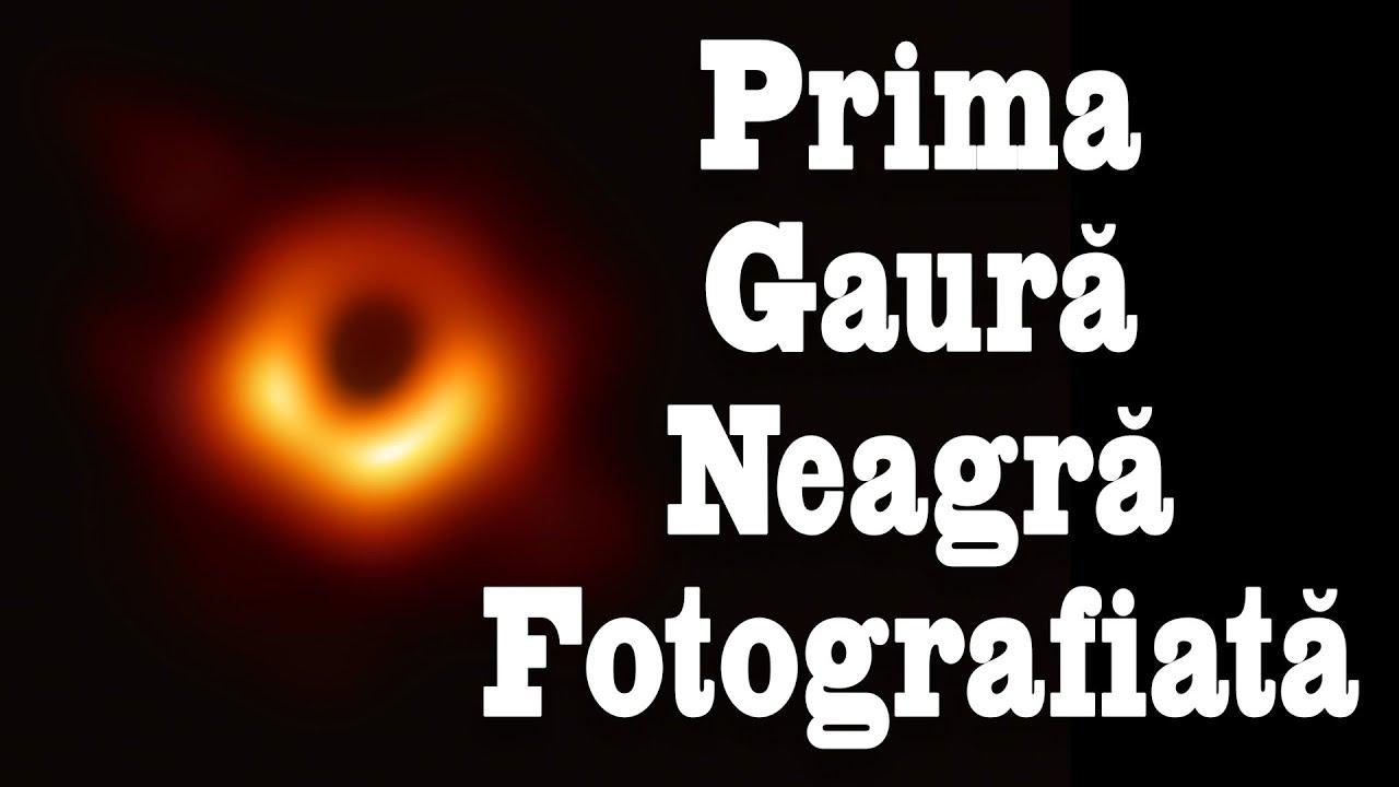Prima Gaură Neagră Fotografiată (cu Cristian Presură)