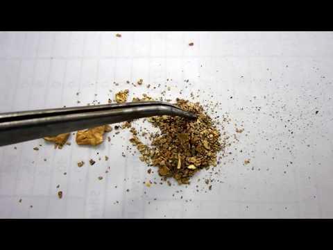 Southern Oregon / Northern California Gold Flake Sample