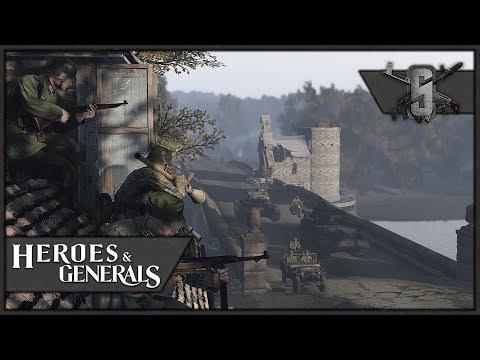 """MKb 42(H)"" Villa Defense - Heroes and Generals - German Infantry Gameplay"