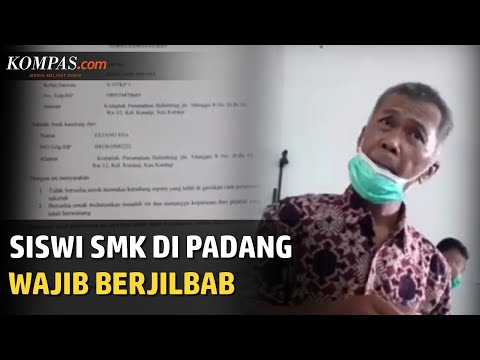Viral Siswi Non-Muslim SMKN 2 Padang Wajib Pakai Jilbab, Kepala Sekolah Minta Maaf