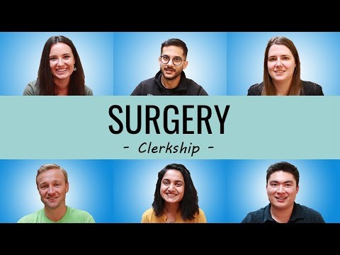 HOW TO ACE SURGERY ROTATIONS   Best Study Resources, Routine, Honor Third Year Clinical Clerkships