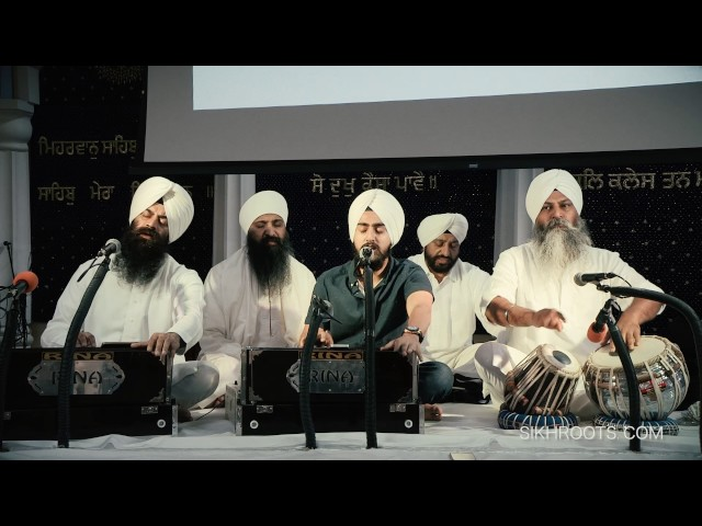 Veer Gurjot Singh - Son of Sant Anoop Singh Una Sahib Wale at San Jose Gurdwara, November 30, 2016