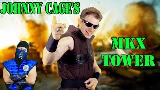 Johnny Cage Plays - MORTAL KOMBAT X Klassic Tower (Gameplay W/ Sub-Zero) | MKX PARODY