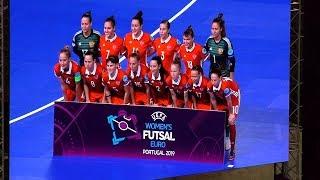 ЕВРО-19. Женщины. 1/2 финала. Россия - Испания - 0:5