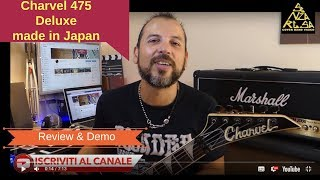 Charvel 475 Deluxe Made in Japan 80' Le mie Chitarre in Tour 2018 NonStopLive