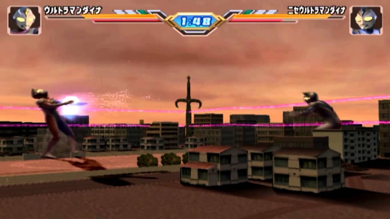 Ultraman Fighting Evolution 3 Storymode Pt11 Ultraman Dyna Vs Evil Dyna