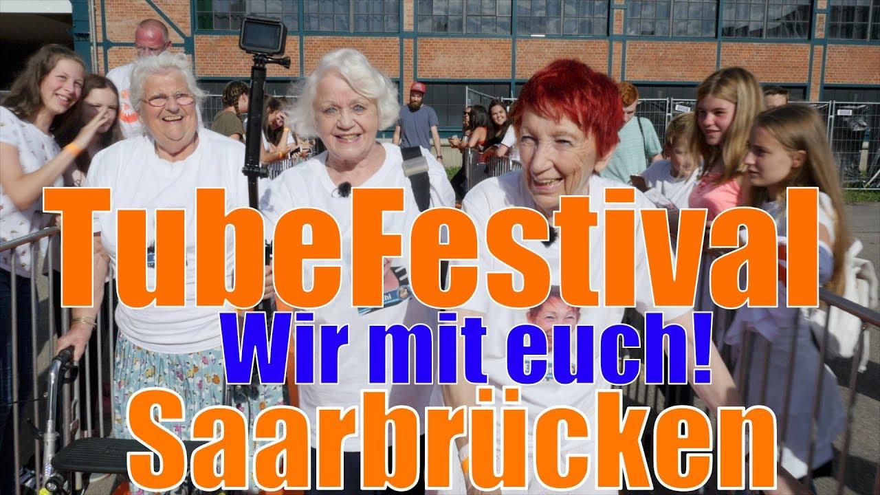 Tube Festival in Saarbrücken - OMA geht Steil!