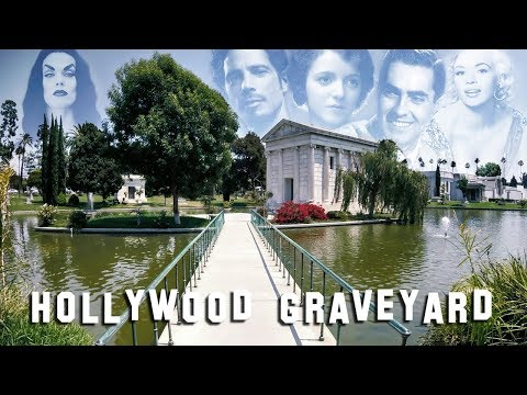 FAMOUS GRAVE TOUR - Hollywood Forever #3 (Vampira, Chris Cornell, etc.)
