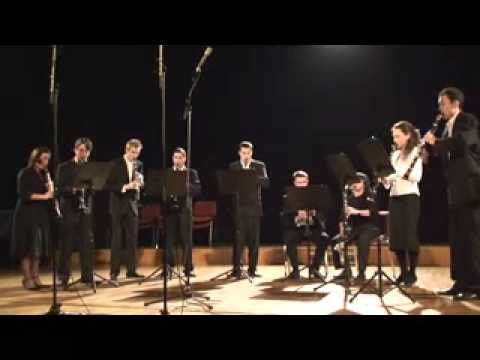 Marriage of Figaro Mozart for clarinet choir