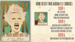 P Nk Fuckin 39 Perfect The Truth About Love Tour Live From Melbourne.mp3