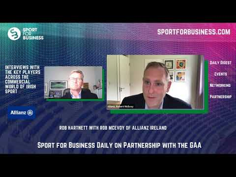Sport for Business Daily with Rob McEvoy of Allianz