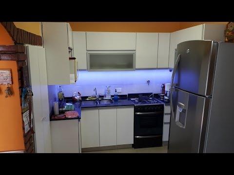Mueble De Cocina Alacenas Vidriadas Manijas J Fabrica
