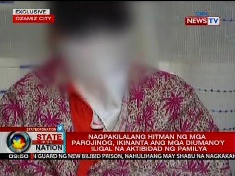 SONA: Nagpakilalang hitman ng mga Parojinog, ikinanta ang mga iligal na aktibidad ng pamilya