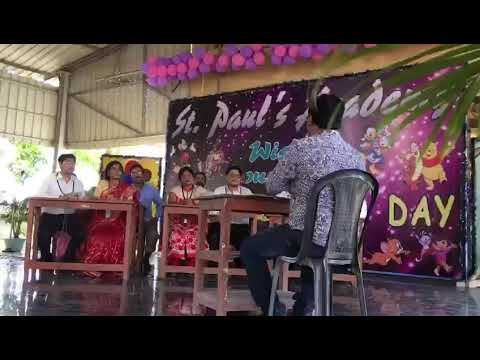 Children's day celebration at st.pauls academy, Burdwan