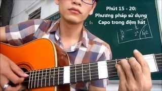Học guitar CÁCH PHỔ HỢP ÂM (cho bài nhạc bất kì)