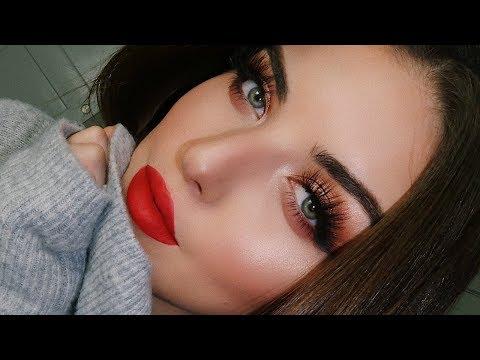 Christmas Makeup Tutorial | Tanya Cheban
