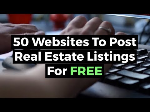 50 Websites to Post Real Estate Listings for FREE