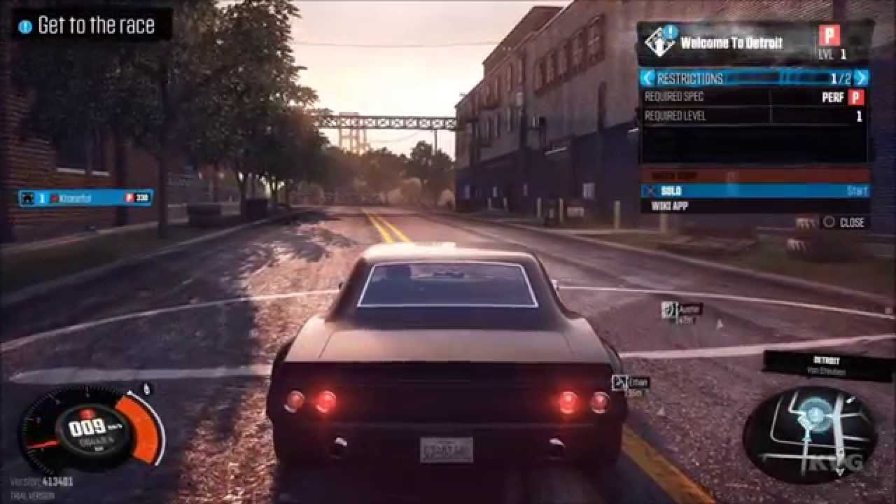 the crew gameplay ps4