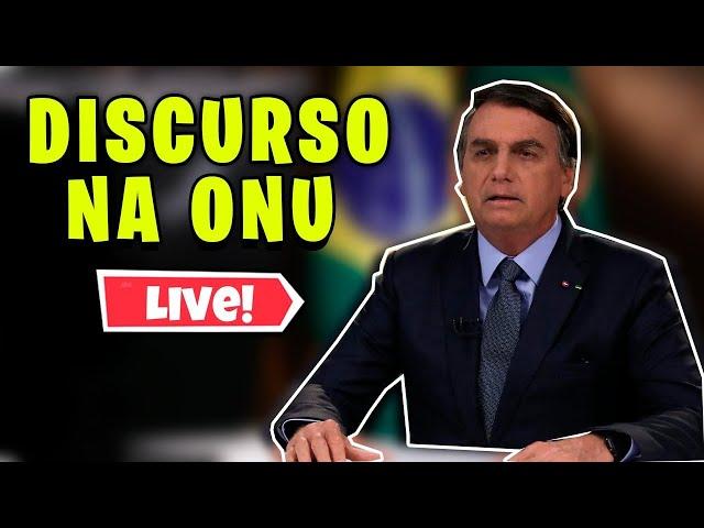 O VERGONHOSO DISCURSO DE BOLSONARO NA ONU