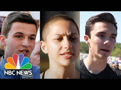 Marjory Stoneman Douglas Students Speak At Harvard University | NBC News
