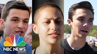 Marjory Stoneman Douglas Students Speak At Harvard University | NBC News