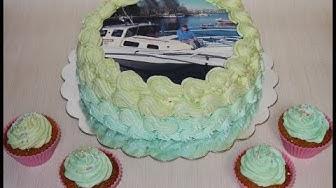 Syötävä kakkukuva | Makutomusokerit