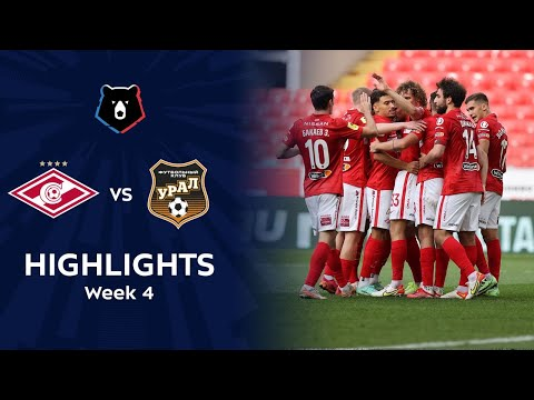 Spartak Moscow Ural Goals And Highlights