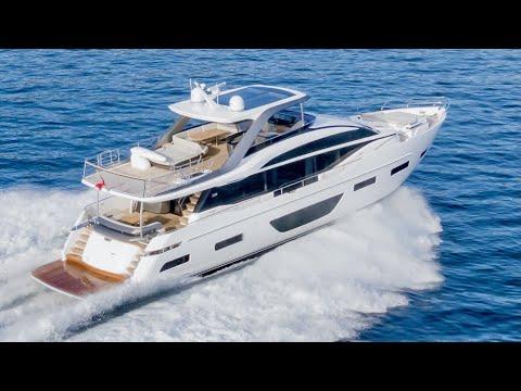 $9.25M Superyacht Sea Trial : Princess Y85