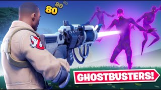 I became a GHOSTBUSTER in Fortnite!