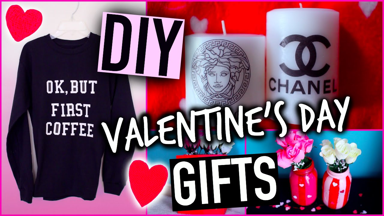 Diy valentine 39 s day gifts youtube for What is the best gift for valentine