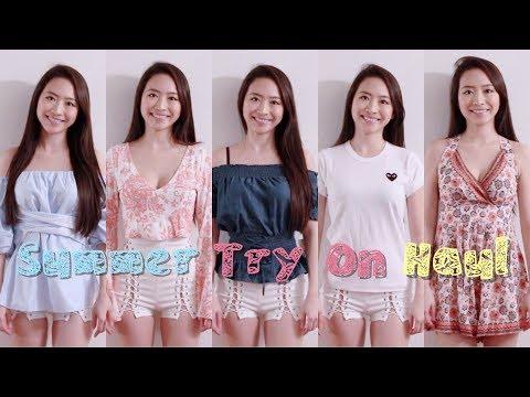 ❤️ Elaine Hau - 夏天衣服購物分享 👗 Summer Try On Haul 💃🏻